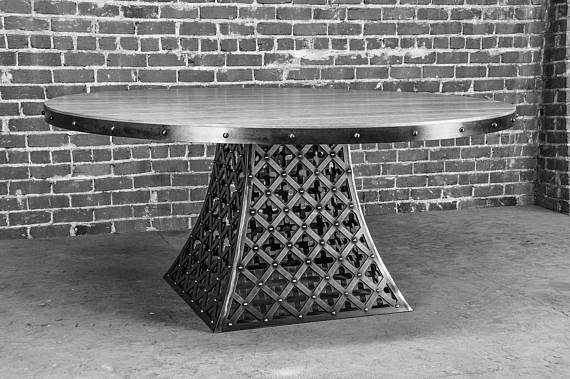 Vintage Industrial Floyd Dining Table #vintageindustrialfurniture