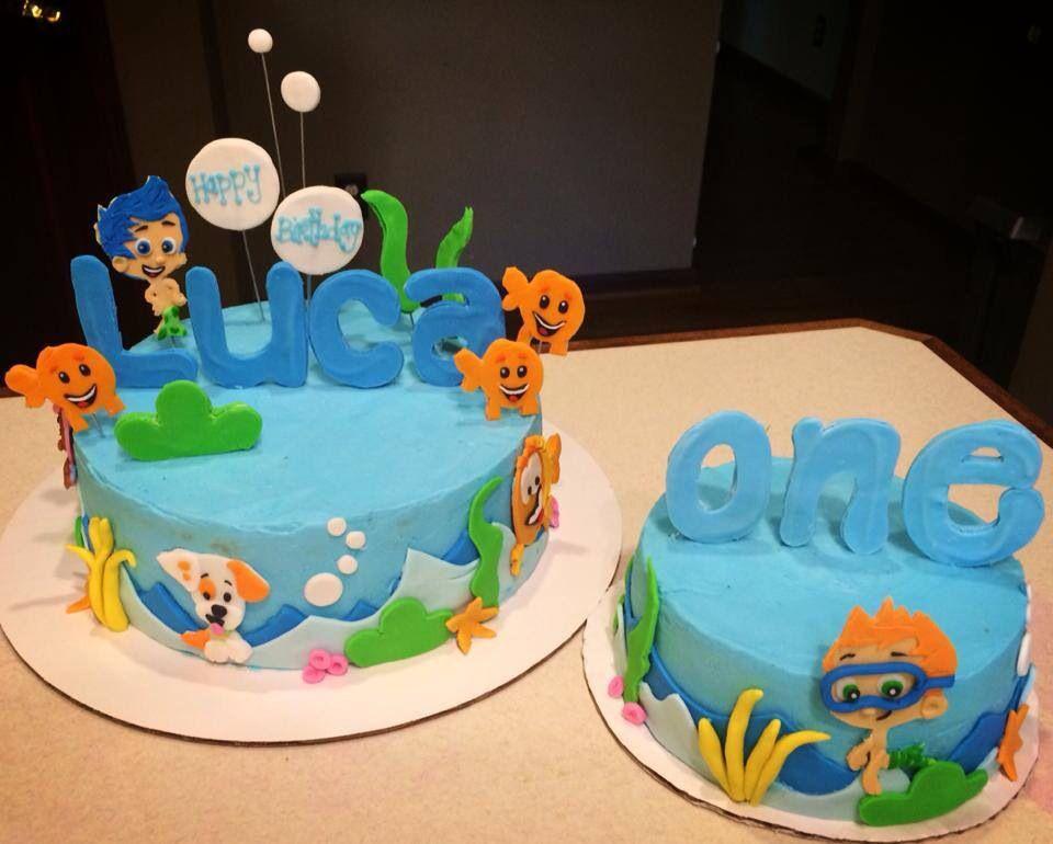 Bubble Gubbies 1st Birthday Cake And Smash Cake Smash Cake Boy Kids Cake Cake