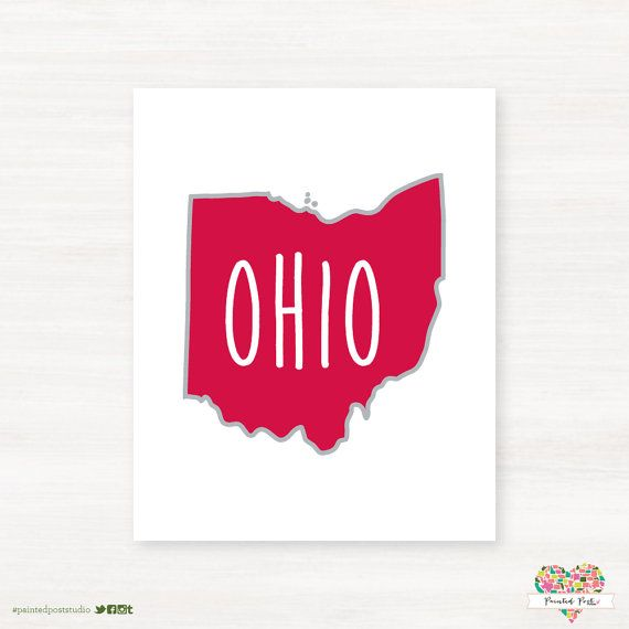 Youngston Ohio State University Map on