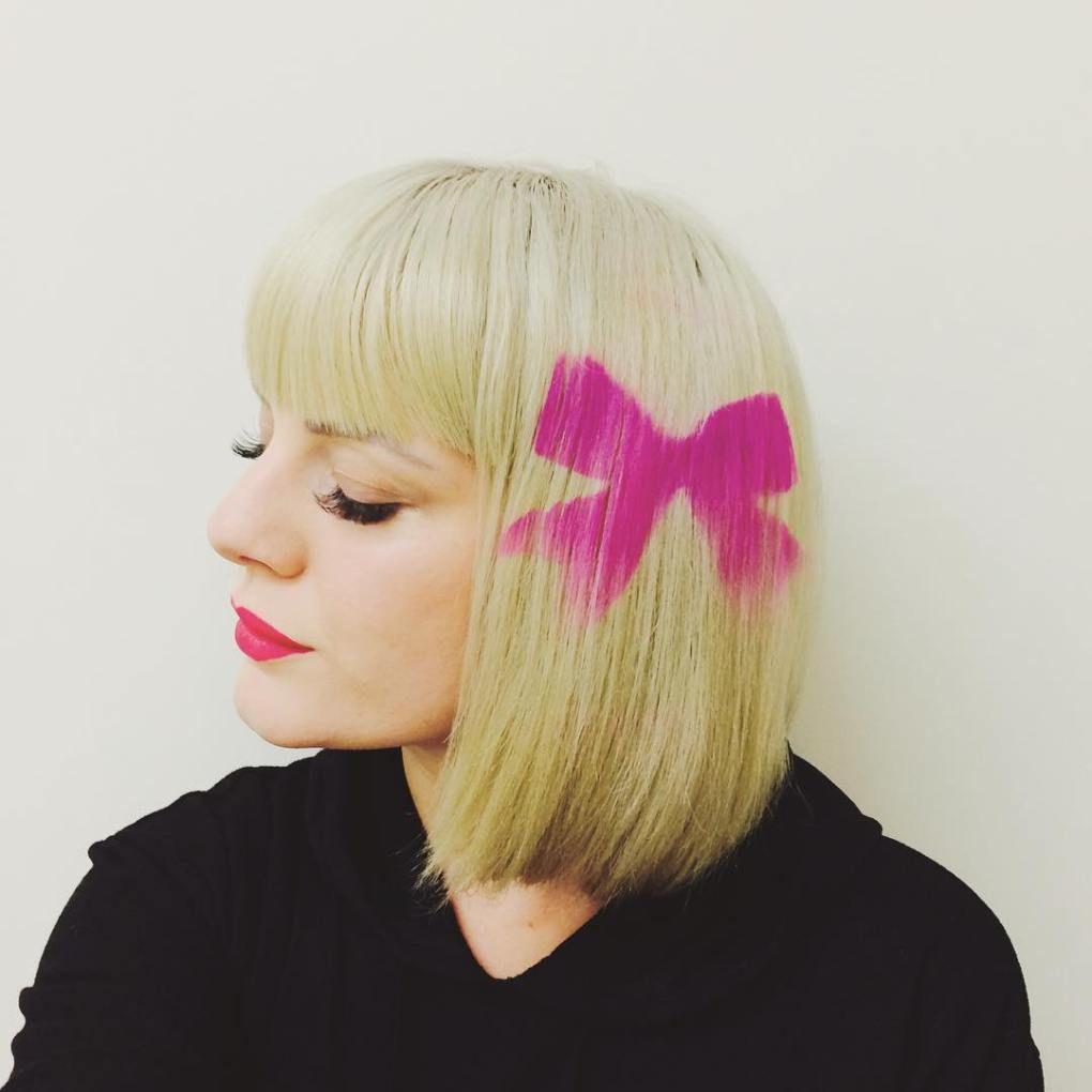 20 Futuristic Graffiti Hair Ideas