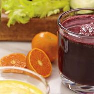 Minty Berry Juice