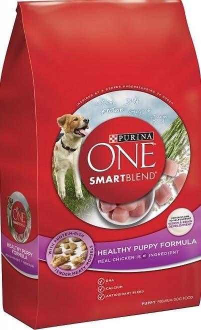 Purina One Healthy Puppy Chicken Recipe Dry Dog Food Chicken