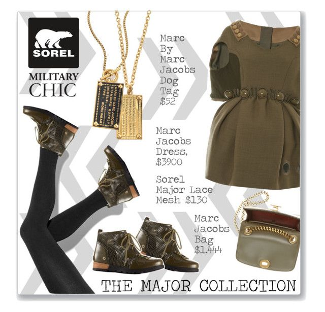 """The Major Collection from Sorel Contest Entry"" by ambervogue ❤ liked on Polyvore featuring Simply Vera, Michael Kors, SOREL, Marc Jacobs, Marc by Marc Jacobs, contestentry, Sorel and sorelstyle"