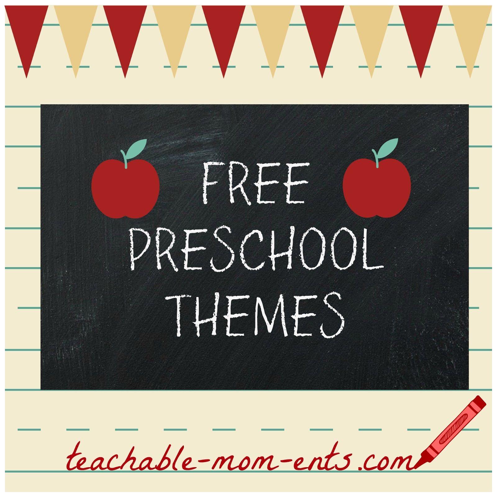 Free Preschool Resources As a former preschool teacher turned ...