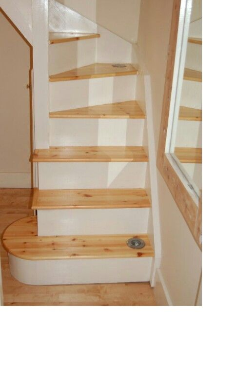 Space Saving Staircase For Loft Conversion Tiny House Stairs