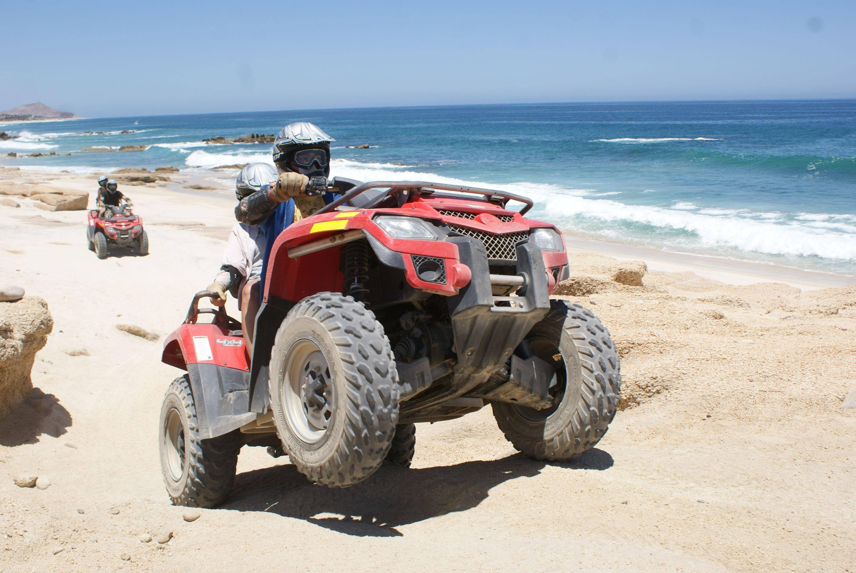 Sea & Desert ATV tour Los Cabos
