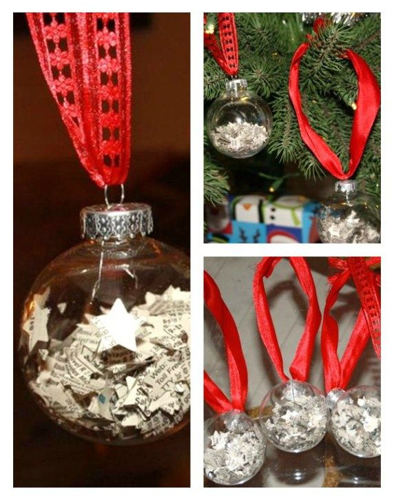 Easy Christmas Ornament {Kid Craft} Easy christmas ornaments