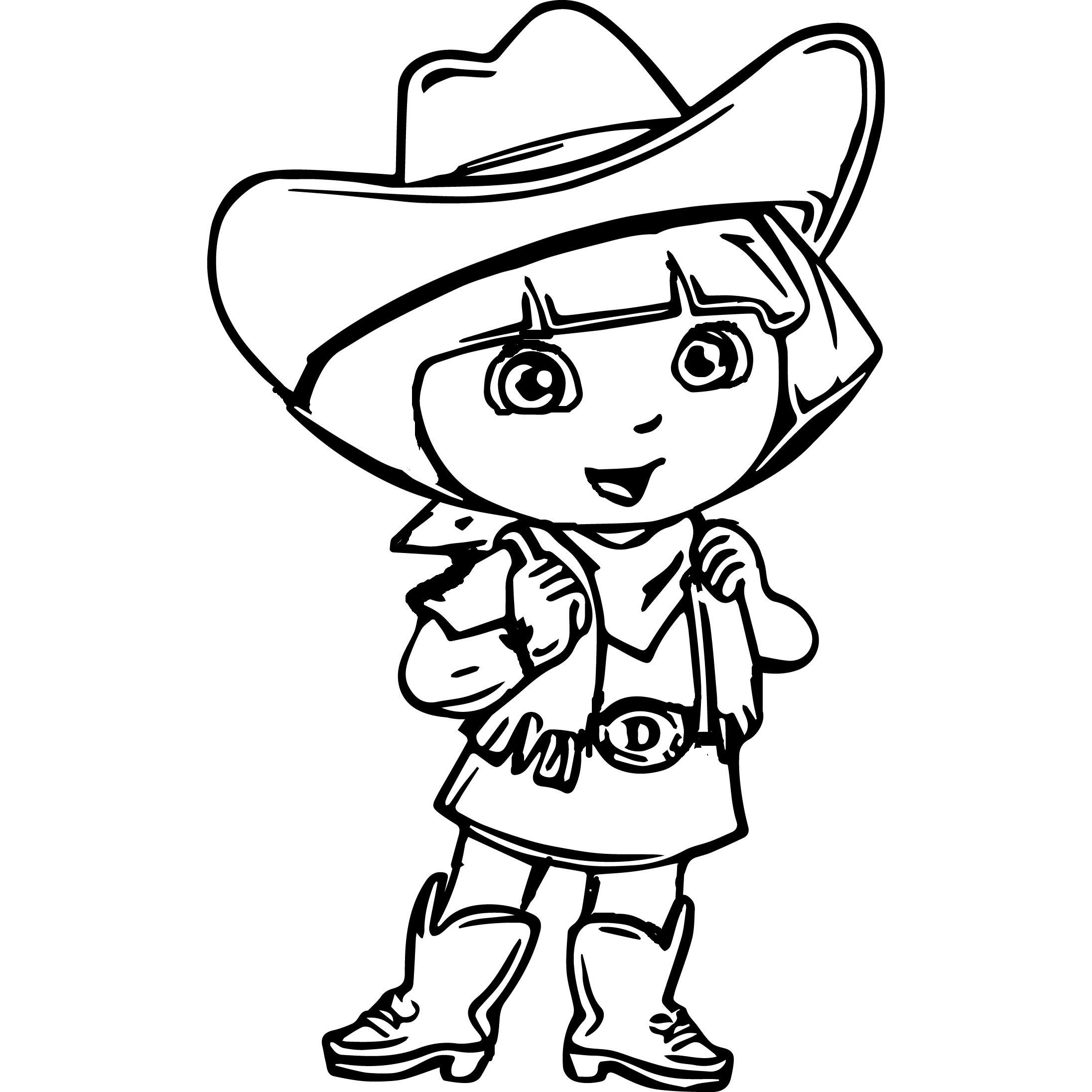 Dora The Explorer Coloring Pages And Sheets For Kids