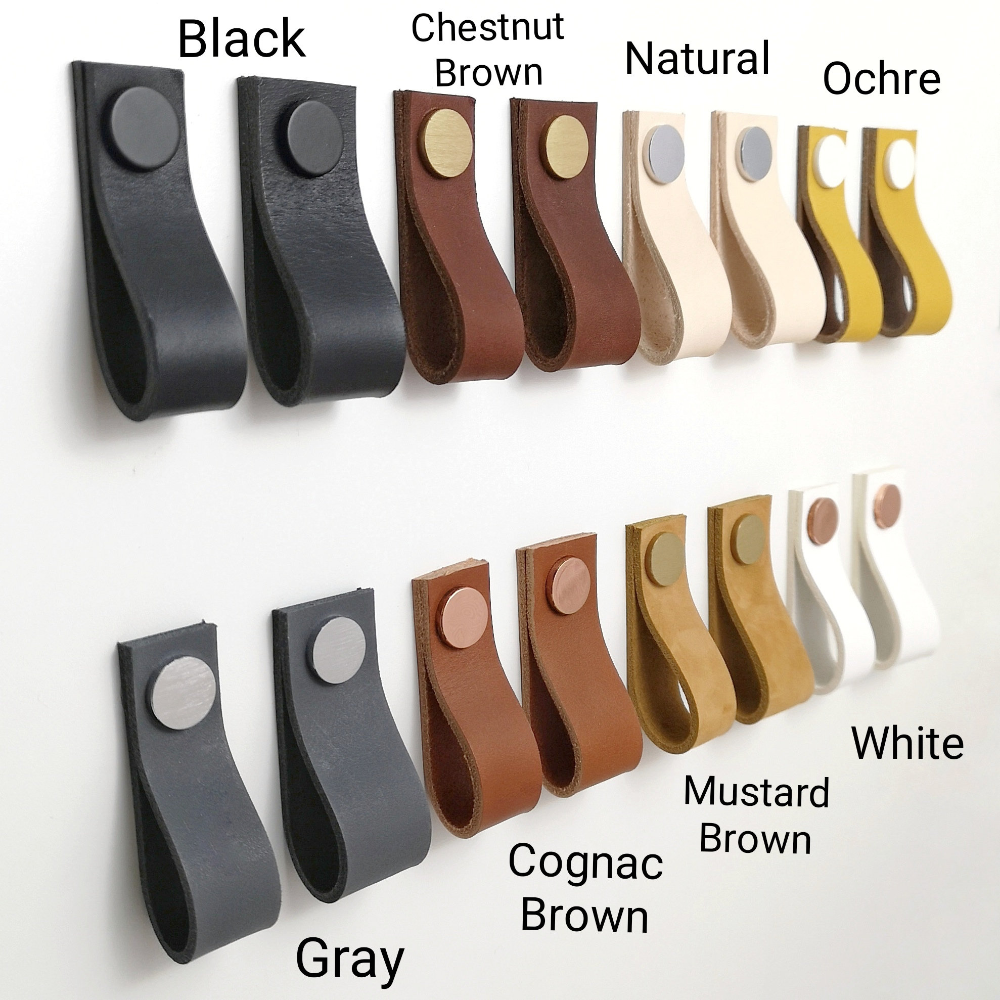 Leather Drawer Pulls Leather Pulls Dresser Handles Leather