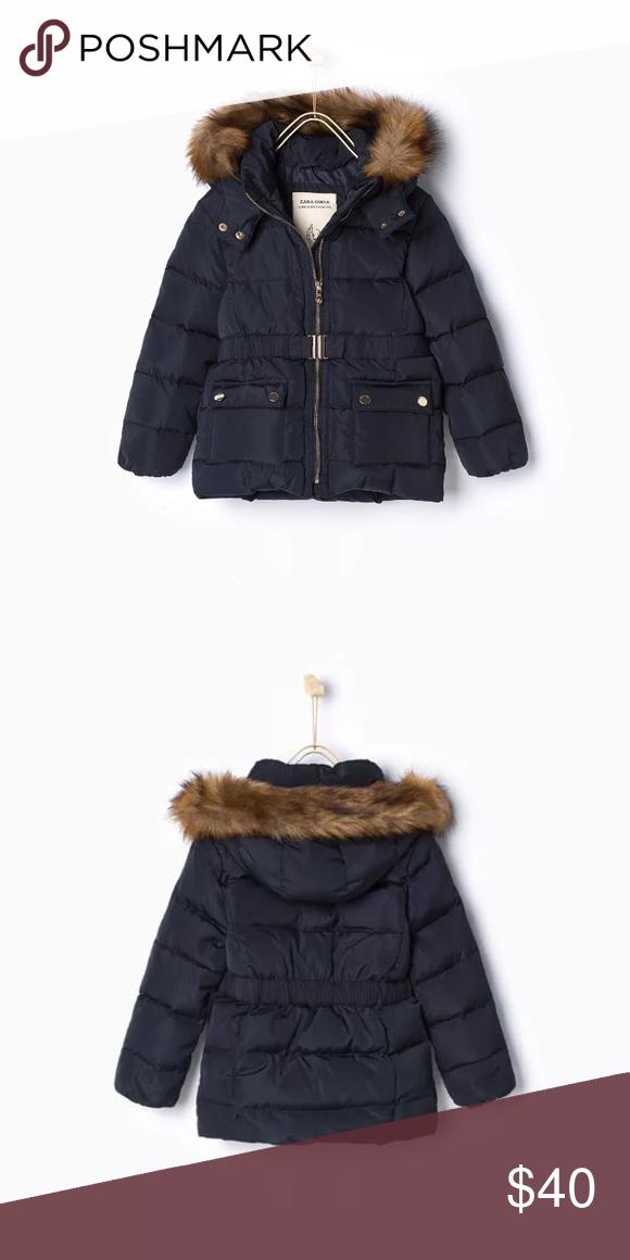 46a6715d44fe Zara girls down feather jacket NWT 13-14 NWT Warmest ZARA Kid Girl ...