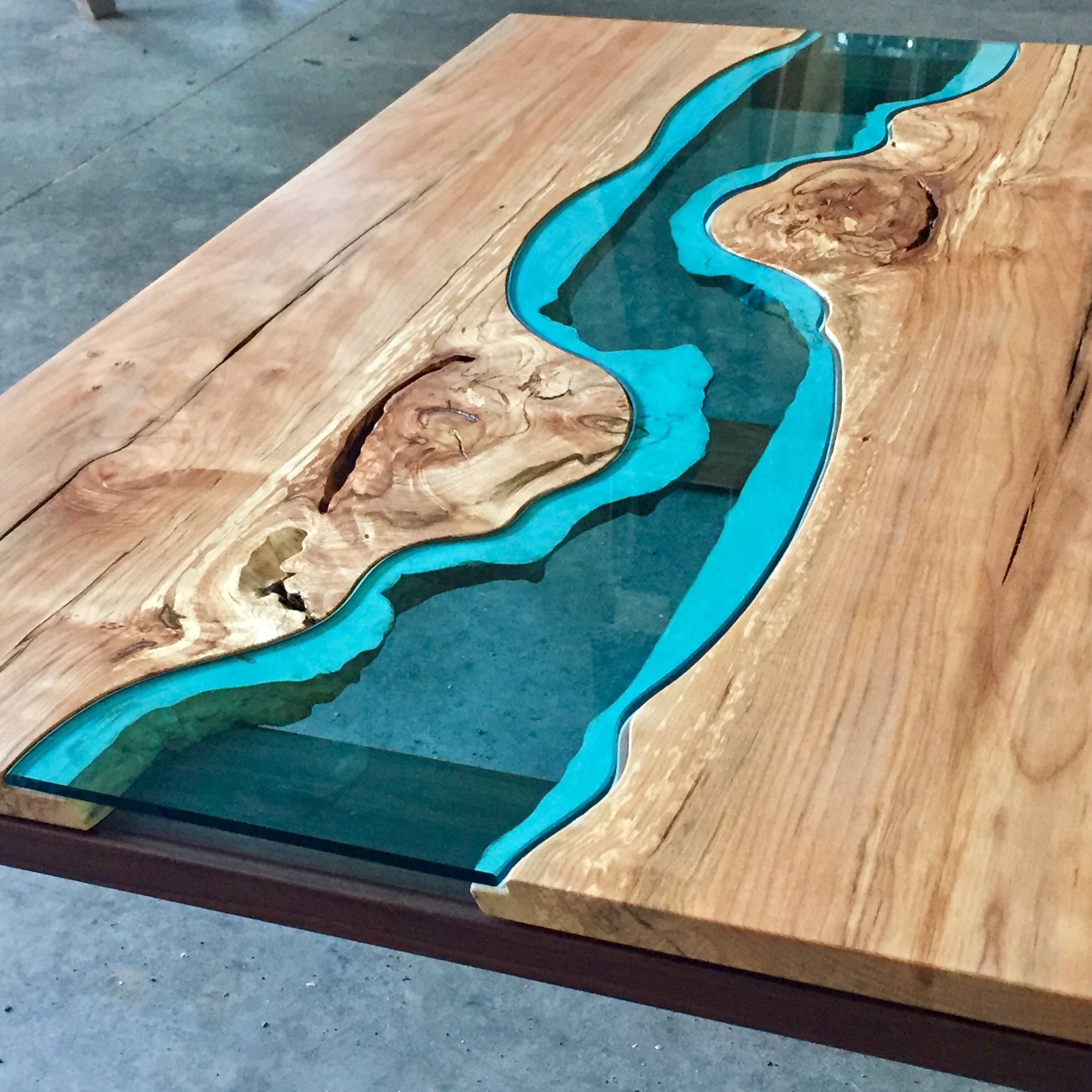 Spalted Maple River Coffee Table Greg Klassen House