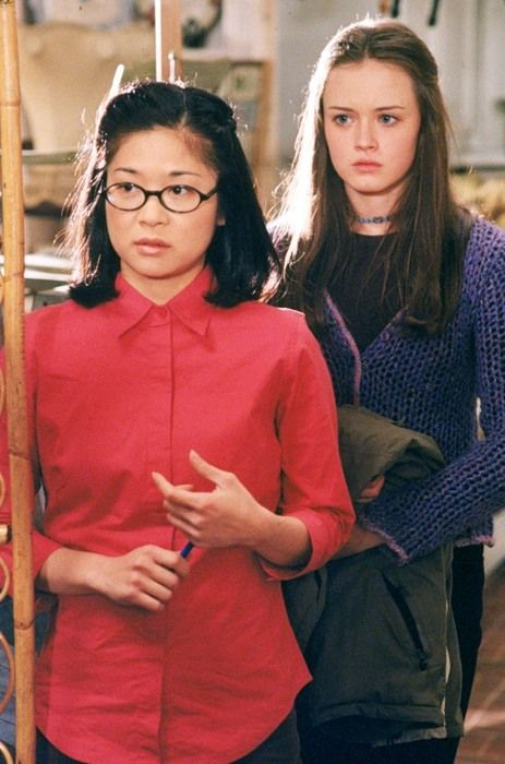 gilmore girls keiko agena and alexis bledel serial pinterest. Black Bedroom Furniture Sets. Home Design Ideas