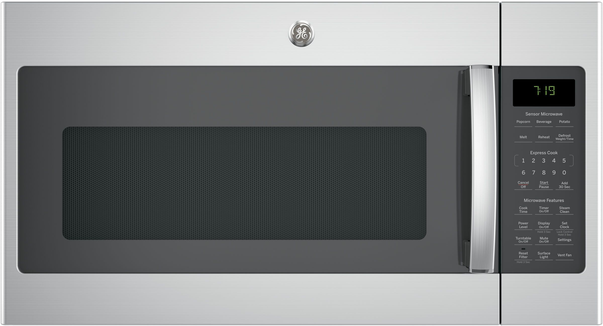 Ge Jnm7196skss Microwave Oven Microwave Steam Cleaning