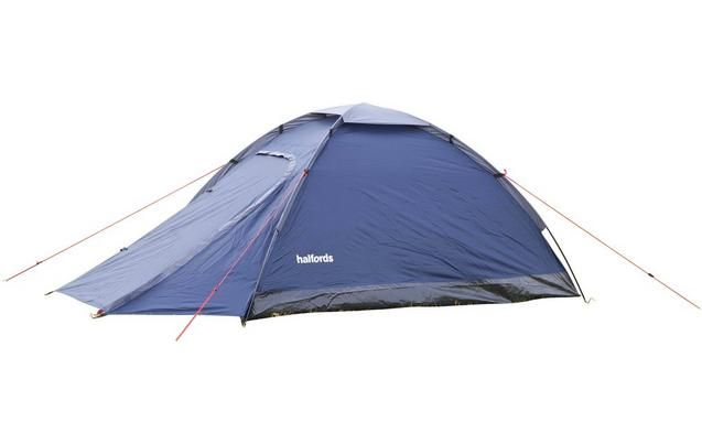 Halfords 2 Man Dome Tent With Porch - Dark Blue  sc 1 st  Pinterest & Halfords 2 Man Dome Tent With Porch - Dark Blue | boomtown ...