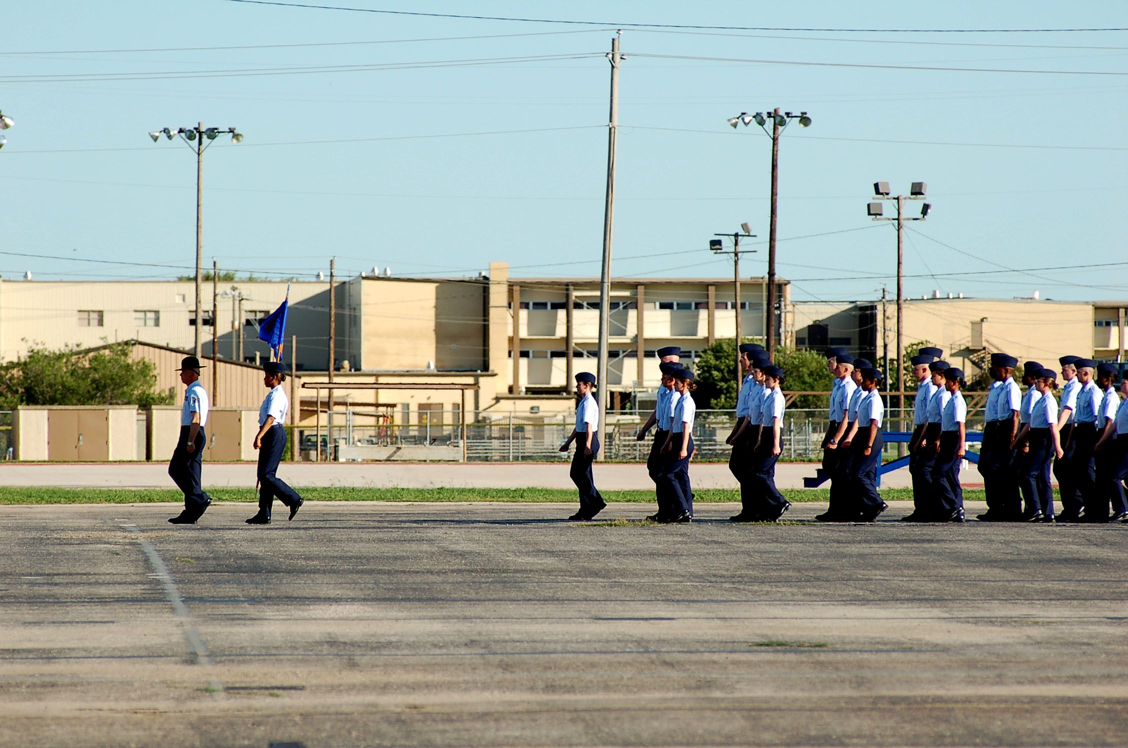 lackland afb in san antonio, tx...hubby was stationed