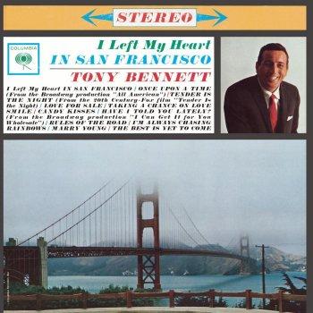 Tony Bennett I Left My Heart In San Francisco Paroles Musixmatch