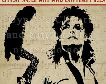 michael jackson svg michael jackson wall vinyl micahel jackson t shirt silhouette