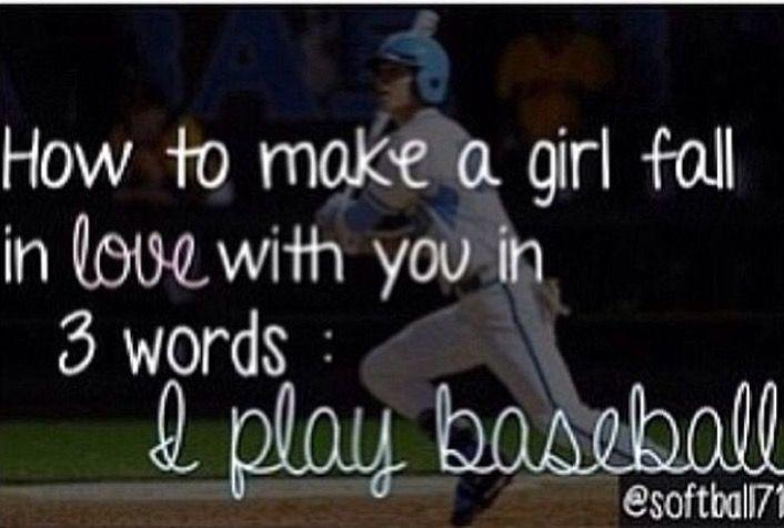 """I Play Baseball"" <3"
