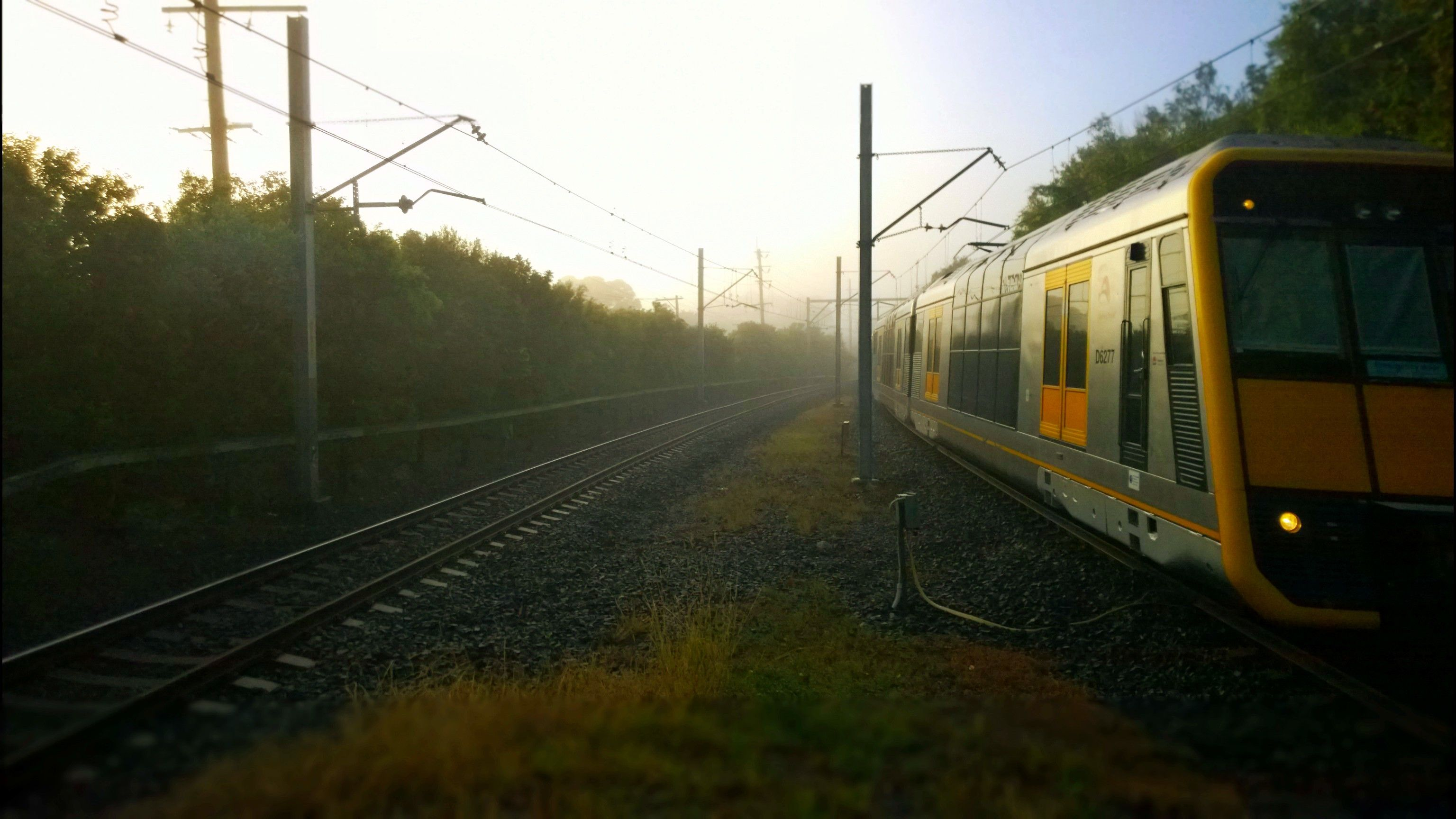 Train... not going my way...