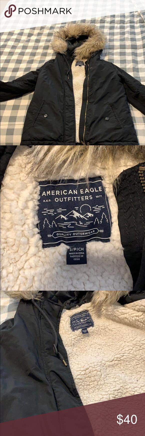 Women S American Eagle Winter Jacket In 2020 Winter Jackets American Eagle American Eagle Outfitters Jackets [ 1740 x 580 Pixel ]