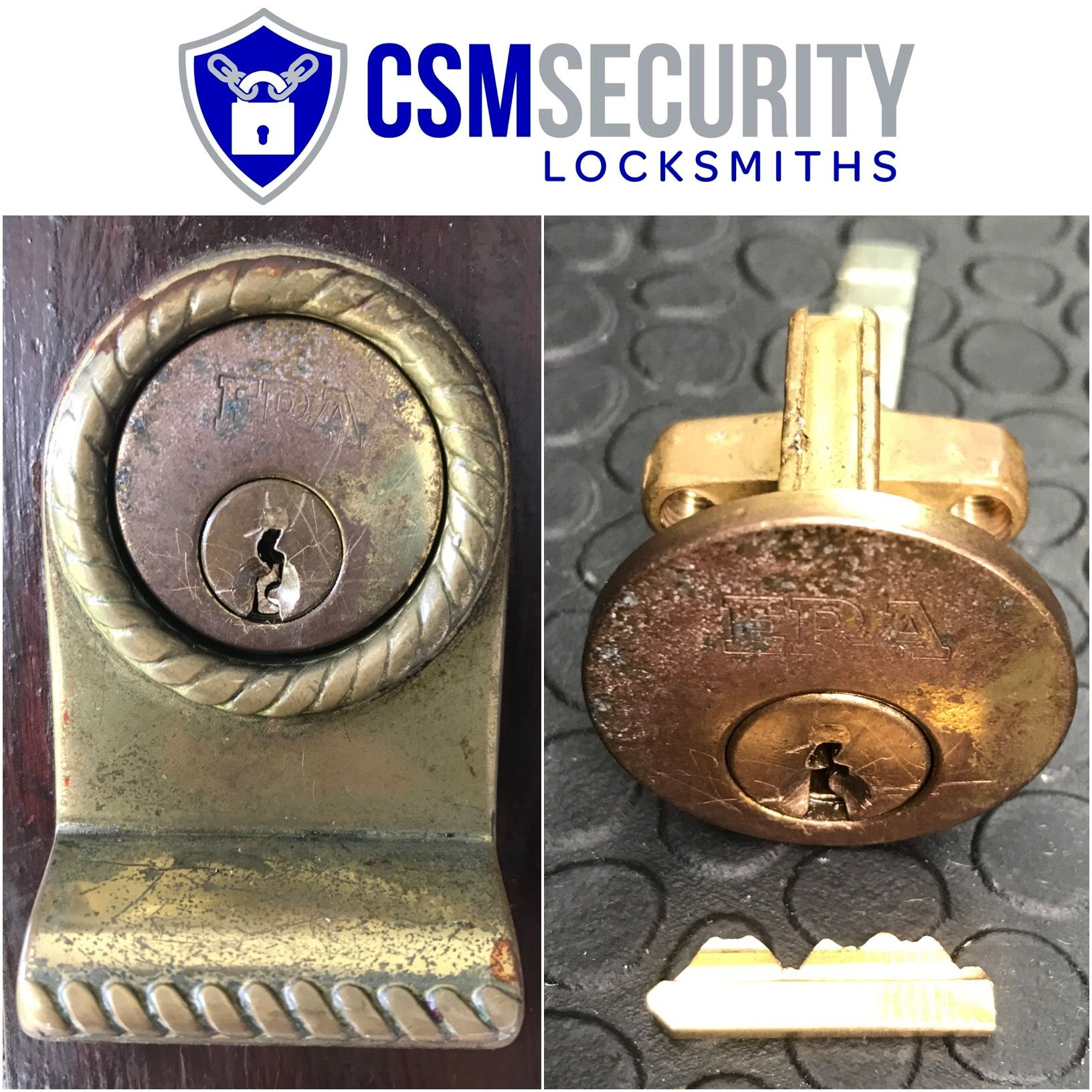 Extracted broken key from front door lock on a property in Milton ...