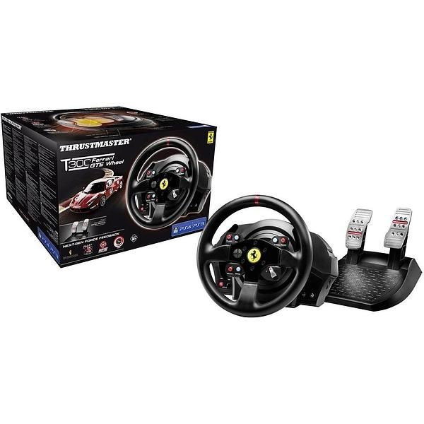 Thrustmaster T300 Ferrari GTE (PC/PS3/PS4) | Racing wheel | Ps4