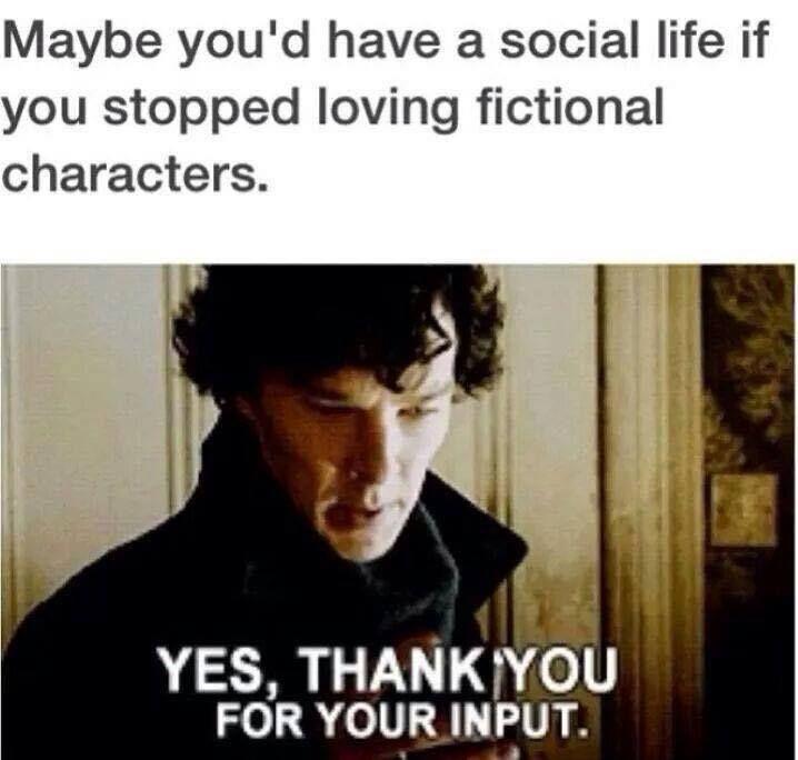 Yeah Thanks Sherlock Funny Sherlock Fandom Sherlock