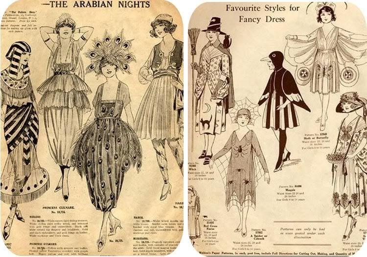 1920s Halloween Costumes , Vixen Vintage blogspot