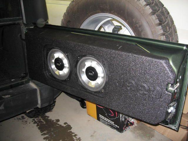 Newbie Looking For New Speaker Box Jeep Tj Jeep Jeep Jk