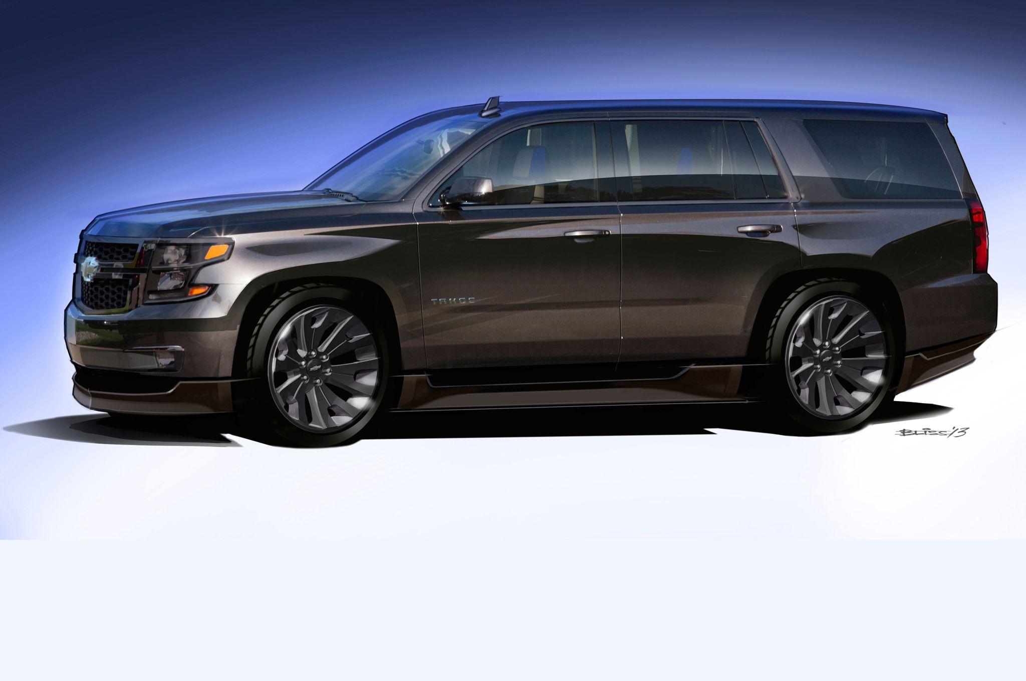 Fast Tough And Fancy Chevrolet Trucks Suvs At 2013 Sema Show Med Bilder