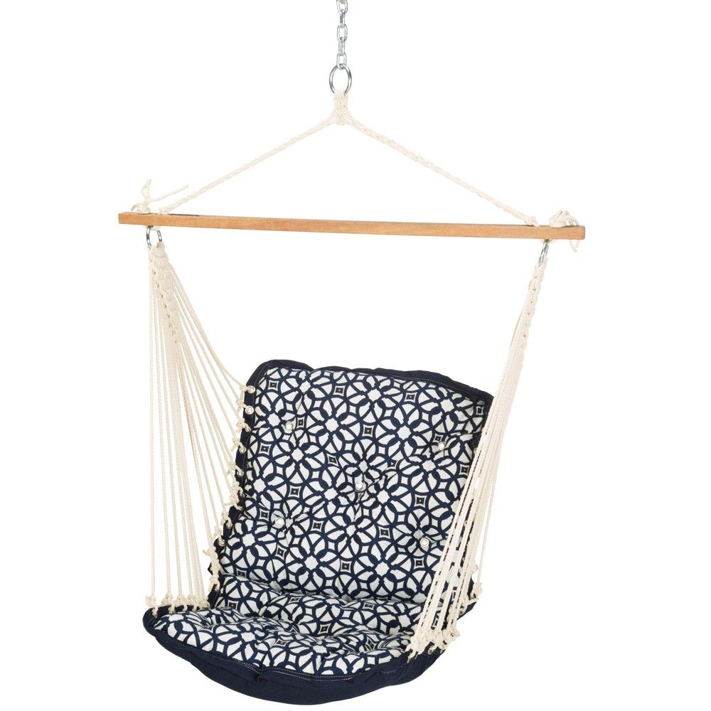 Single swing navywhite bluewhite hatteras hammocks