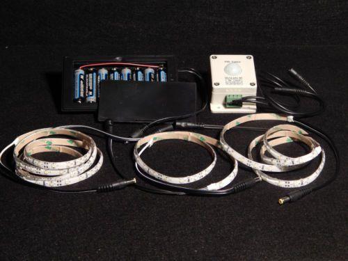 Battery Flexible LED Gun Safe Light Kit Motion  Pictures Gallery
