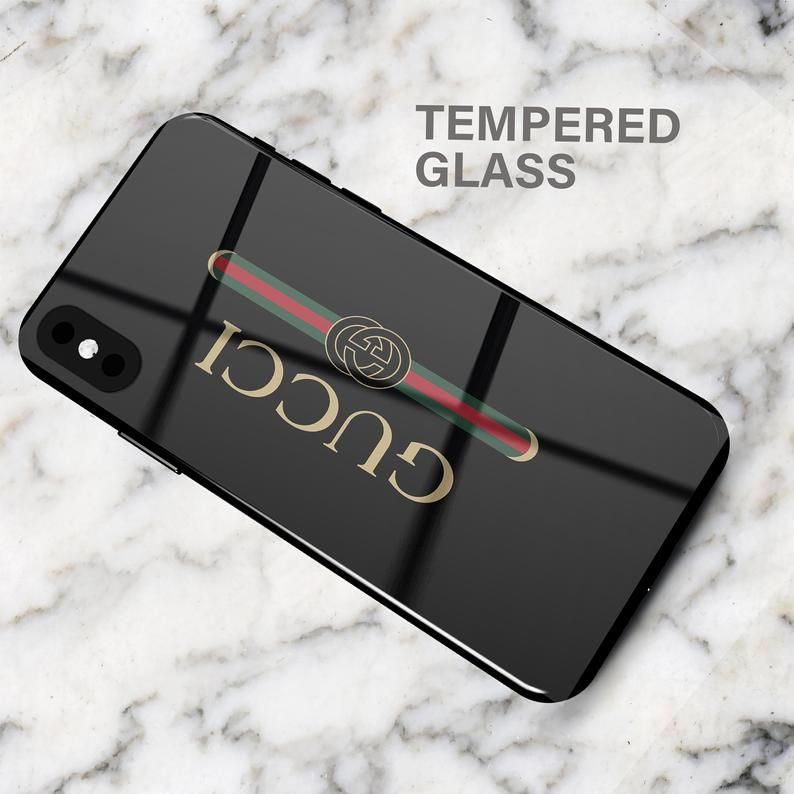 Gucci black phone case xs max iphone xr iphone x iphone 8
