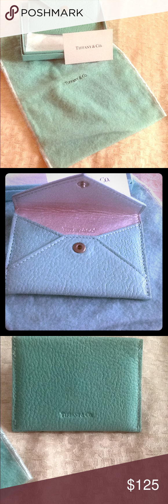 Tiffany Blue Business Card Holder. Like new in excellent condition ...