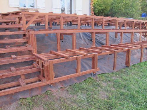 REAL-REC-BONNEAU-06jpg (500×375) Навесы Pinterest Decking - construction terrasse en bois sur parpaing