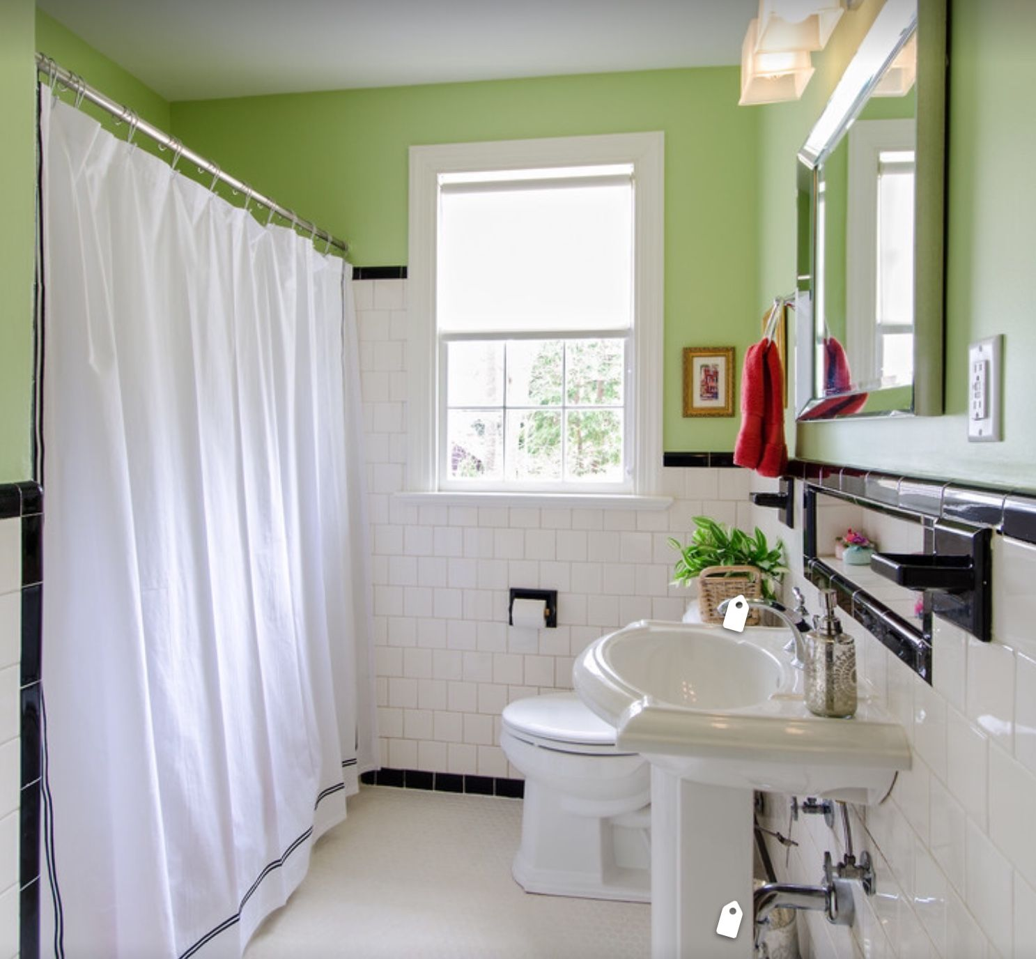 Pin by Terry on Vintage Style Bathrooms   Pinterest