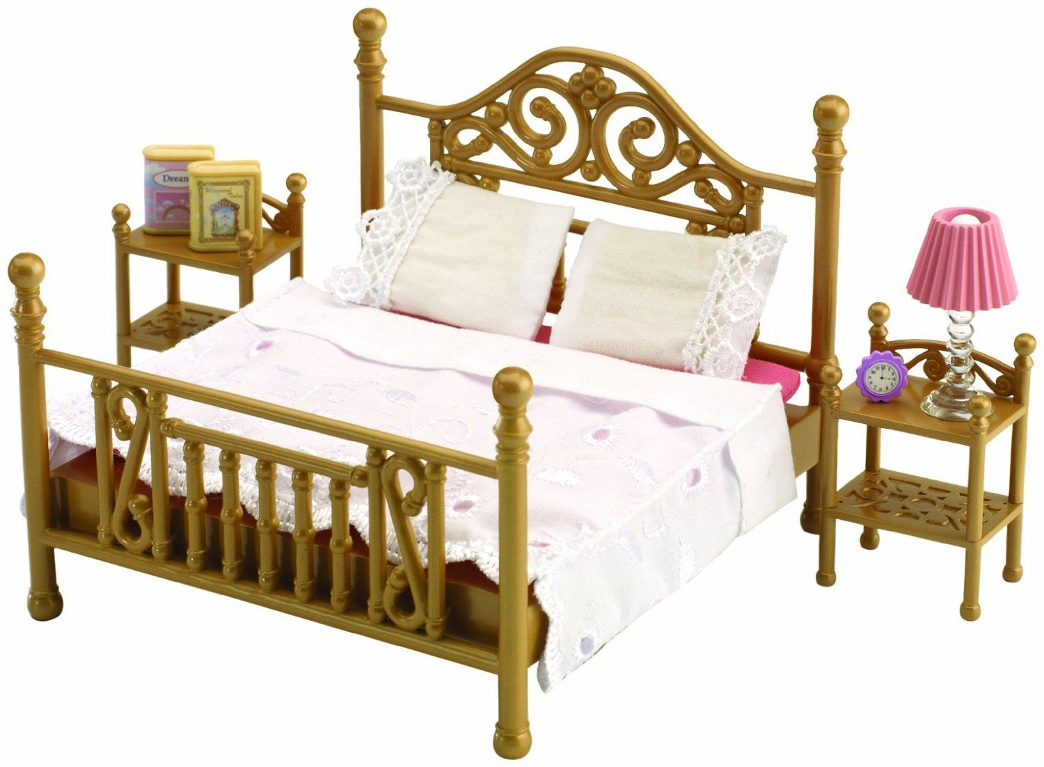 Sylvanian Families Luxury Brass Bed | Calico Critters/Sylvanian ...