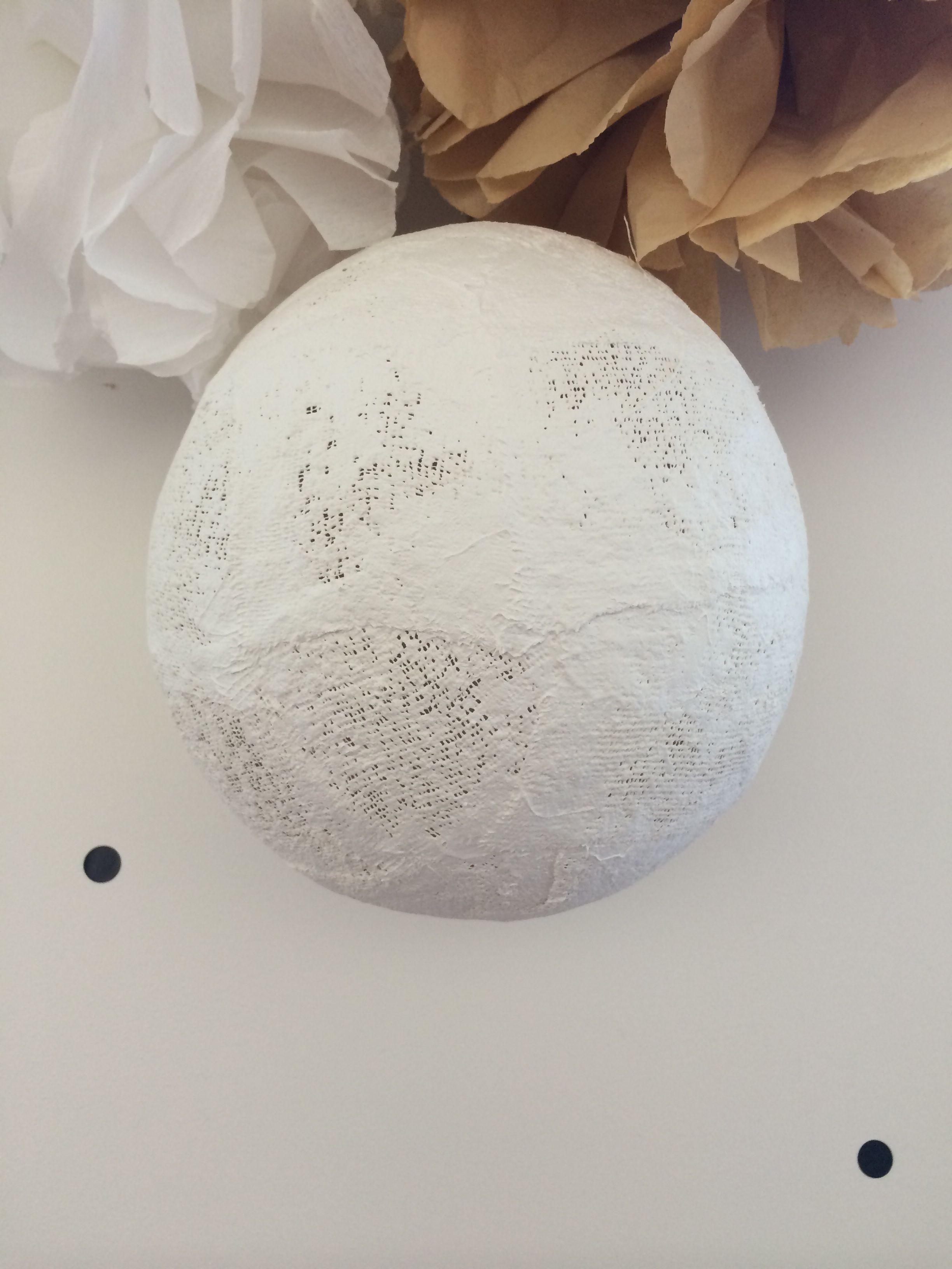 plâtre en bande | boules | pinterest | platre, boule et bande