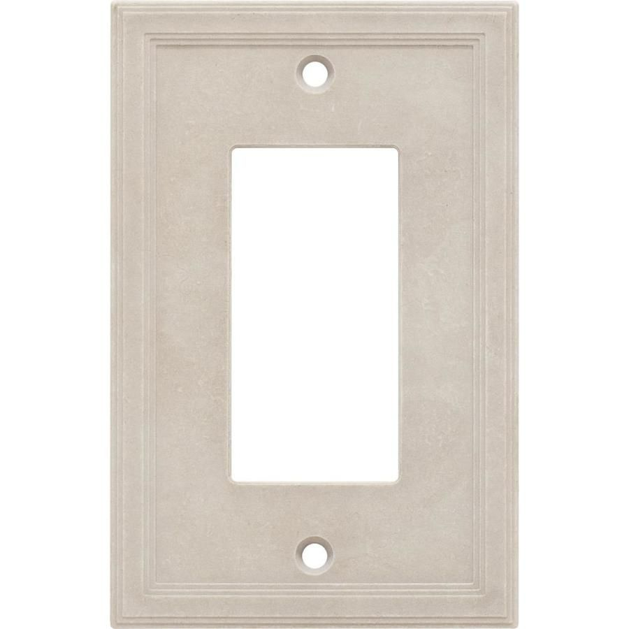 Somerset Collection Somerset 1 Gang Sand Single Decorator Wall