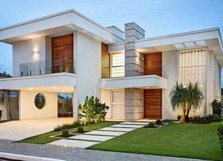 Fachada condom nio fechado ideias para a casa for Fachadas de casas modernas de 120 metros cuadrados