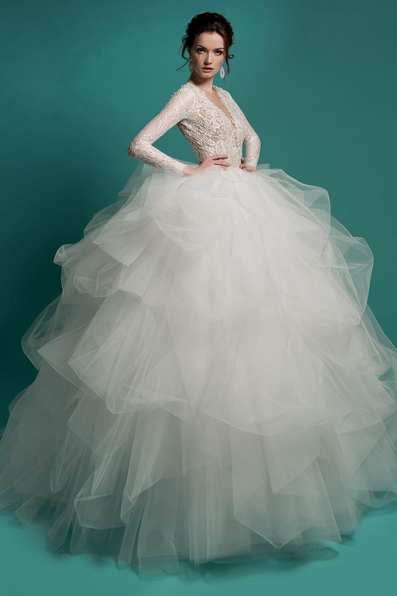 df53f5aaa7318de Свадебное платье Gabbiano Valentine. Купить свадебное платье в салоне  Валенсия (Москва)