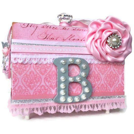 personalized jewelry box keepsake box by blissfulboxes