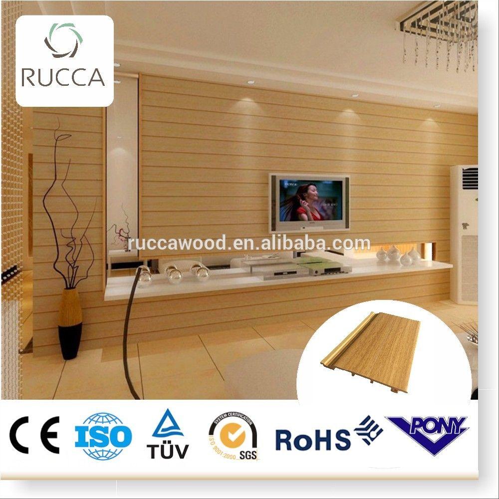 Foshan Rucca Wood Plastic Composite Pvc Ceiling Panels