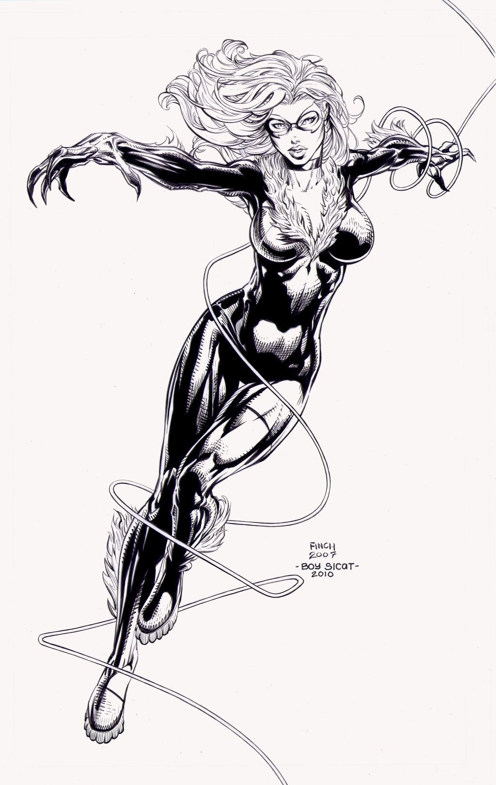 black cat by david finch spidey 39 s world pinterest super h ros h ros et bd. Black Bedroom Furniture Sets. Home Design Ideas