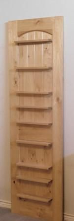 We can transform old or surplus doors into useful, decorative accents for home or office! We can provide or may use your doors and add shelving, make into room dividers, corner displays and much more.  Sutton House Millwork - a quality manufacturer.