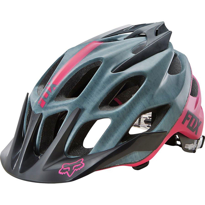 Fox Flux Mountain Bike Helmet Ladies Pink Head Circumference S M 2015 Mountain Bike Helmets Womens Bike Helmet Bike Helmet