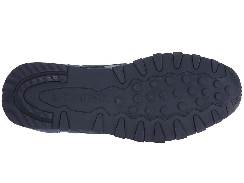 0614427f4d9c Reebok Lifestyle Classic Leather Clip ELE Men s Shoes Blue Peak Collegiate  Navy Blue Slate