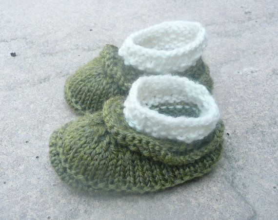 Baby Boots Knitting Pattern Baby Booties Simple Seamless Baby