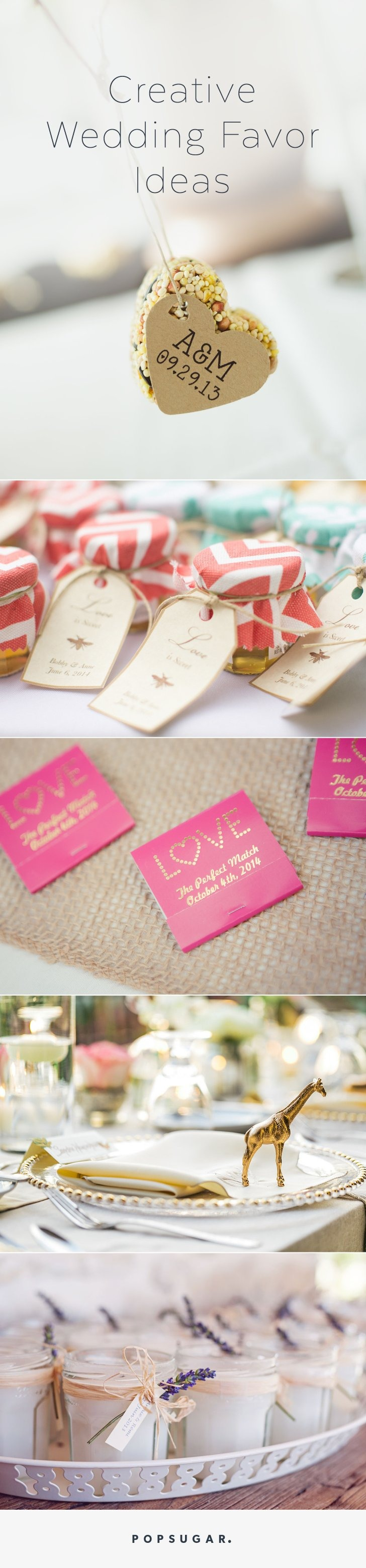 48 Creative, Fun, and Personalized Wedding Favor Ideas | Pinterest ...