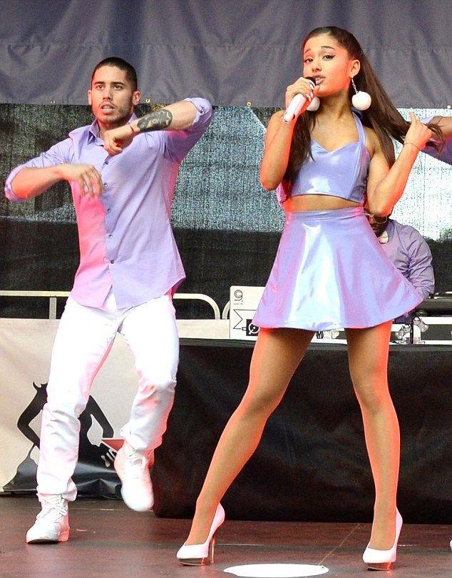 Ariana dating ricky